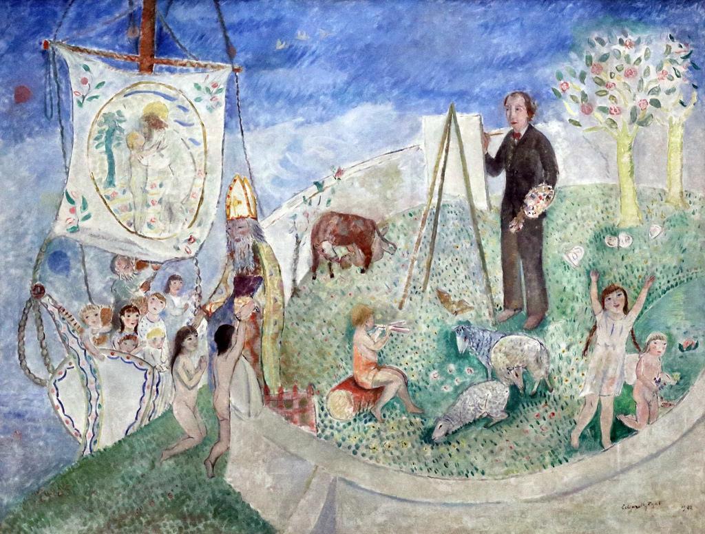 Edgard Tytgat - Invitation au Paradis - 1922