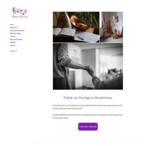 Website Astro-Musica